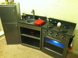 ana white simple play kitchen with fridge diy projects simple play kitchen with fridge