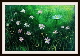 wild flowers and grass paintings shrink u0027s views