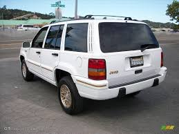 1995 jeep grand cherokee 1995 stone white jeep grand cherokee limited 4x4 29097767 photo