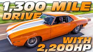 2000 hp camaro 2000 hp 69 camaro battles larry larson rocky mountain race week