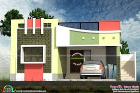 Tamilnadu Home Design And Gallery Front Elevation Of House House Elevation Design India House Design