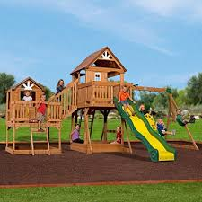 Backyard Adventures Price List Backyard Discovery Malibu Cedar Swing Set Sam U0027s Club