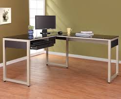 Glass Corner Computer Desks For Home Things You Should About L Shaped Office Desk Marlowe Desk Ideas