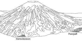 coloring pages volcano volcano coloring pages volcano coloring pages dinosaur and color
