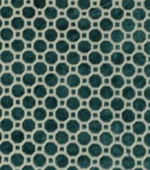 upholstery fabric robert allen velvet geo turquoise joann