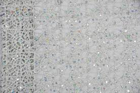 Lace Table Overlays Silver Chain Table Overlays