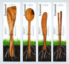 Kitchen Utensils Design by Scanwood Package Design For Sustainable Kitchen Utensils