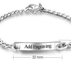 stainless silver bracelet images Stainless steel silver bracelet baby kid grandeur essentialz png