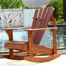 outdoor rocking chair plans adirondack chairs l garden for free patio blue modern wooden