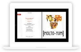 digital menu creator make your menu online with our software
