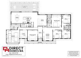 Farmhouse Floor Plan Cardup Farmhouse Direct Homes Wa Rural Range Country Charm