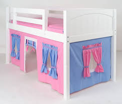Bunk Bed Tent Only Maxtrix Playhouse Loft Bed With Tent And Slide