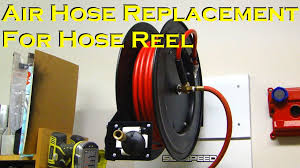 best wall mounted hose reel air hose replacement for hose reel youtube
