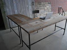 industrial desk l up to 25 off weekend sale l shaped desk wood desk pipe desk