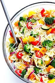 Garden Vegetable Salad by Veggie Lovers U0027 Pasta Salad Gimme Some Oven