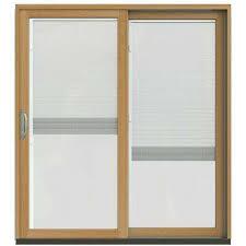 Home Depot Sliding Door Blinds Blinds Between The Glass Patio Doors Exterior Doors The Home