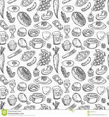 seamless pattern food seamless food pattern stock vector illustration of fruit 24059732