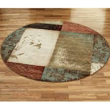 choosing the round kitchen rug design idea and decorations