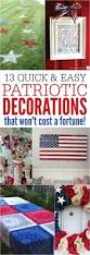 Patriotic Home Decorations Best 25 Patriotic Decorations Ideas On Pinterest Fourth Of July