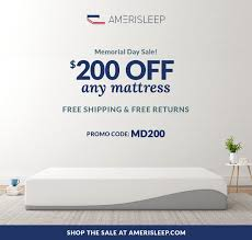memorial day bed sale amerisleep memorial day mattress sales released for 2016