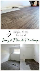 Cheap Vinyl Plank Flooring One Room Challenge Week Three How To Install Vinyl Plank