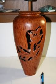 wood turning vases time with character