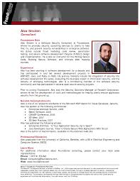 Asp Net Sample Resume by Example Of Resume Bio Sample Professional Bios The Essay Expert