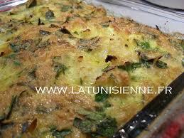 recette de cuisine tunisienne facile et rapide en arabe tajine tunisien au chou fleur tajine brouklou