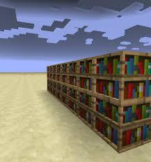 3d Bookshelf 3d Bookshelves Resource Pack Minecraft