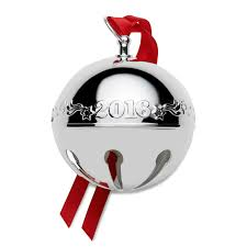 christmas ornaments with initials 2016 wallace sleigh bell 2016 christmas ornament christmas bells