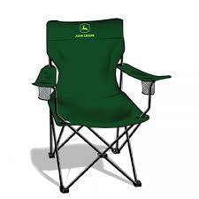 Deluxe Camping Chairs Embroidered John Deere Green Camp Chair Rungreen Com
