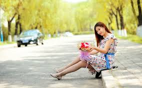beautiful girls with flowers wallpapers u2013 high quality high