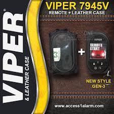 viper 5906v 2 way car alarm security system ebay