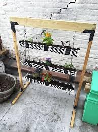 vertical gutter herb garden planter hometalk