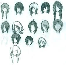 names of anime inspired hair styles anime hair by elixcon name the board pinterest anime hair