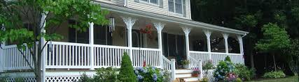 Outdoor Banister Vinyl Railing Porch Deck Stair Railing Systems