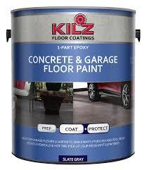 floor paint amazon com kilz 1 part epoxy acrylic interior exterior concrete