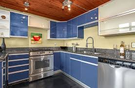 blue kitchen cabinets with granite countertops blue pearl granite countertops pictures cost pros and cons