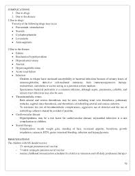 Examples Of A Job Resume by Renal System Complete
