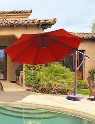 cantilever umbrellas offset umbrellas