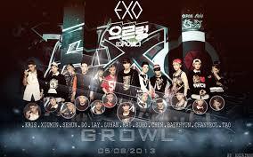 exo growl lyrics lirik lagu exo growl kor ver beningrosari27