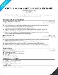 industrial engineering internship resume objective engineering resume sle of resume for civil engineer civil
