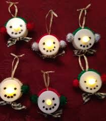 shares a creative and easy ornament craft idea
