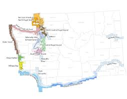 Map Of Washington State by Surfrider Northwest Straits Chapter