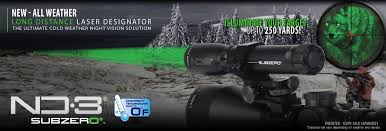night hunting lights for scopes nd3 subzero green laser designator for unting in cold weather