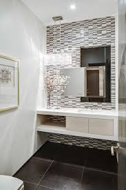modern powder room vanities for small bathrooms powder room contemporary with black