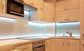 under cabinet led lighting puts the spotlight on the lighting options for inside and under your kitchen cabinets