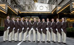 world u0027s first flying butlers now fully trained in london
