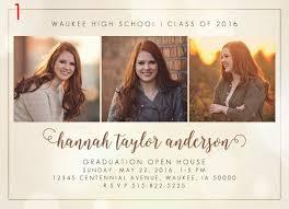 senior announcements seniors 2016 graduation announcements his hers photography