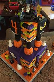 building blocks halloween themed birthday cake cakecentral com
